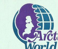 Envelope-ARCTIC WORLD logo,Anchorage,AK.original 1970s-1980s US=ProductsOverTime