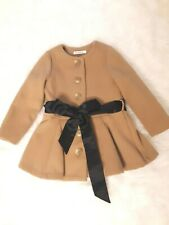 Mio Boutique Girls Camel Coat Size 3-4T