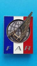 Vintage French Army Special Rapid Reaction Force Original French FAR Metal Badge