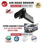 FOR FORD GRAND CMAX 1.0 1.6 Ti 2.0 TDCi 2010-> AIR MASS SENSOR 4PIN w/o HOUSING