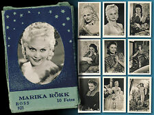Marika Rökk 10 Old Ufa Collecting Images from > 30er Years in The