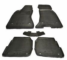 Rubber Car Floor Mats All Weather Fully Tailored fit Audi A6 C5 1998-2004