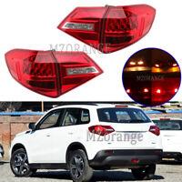 4X LED Left Right Rear Tail Light Stop Brake Lamp For Suzuki Vitara LY 2015-2020