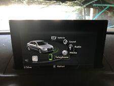 15-18 AUDI A3 S3 8V INFORMATION GPS NAVIGATION SCREEN ASSEMBLY 3K MILES!!!!