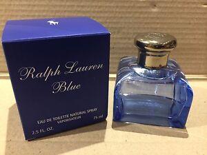 RAPLH LAUREN BLUE EDT 75 ML / 2.5 OZ SPRAY WOMEN NIB SEAL BOX ORIGINAL