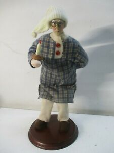 VINTAGE  FOUR SISTERS MR. SCROOGE ?  CHRISTMAS DOLL Dickens
