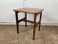 Vintage Schreiber Teak Mid Century Coffee Table Side Table
