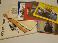 LOT of Automotive Paper Ephemera Advertisments Books 1970s Jaguar Journal parts