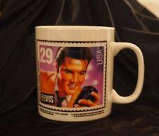 Elvis Aaron Presley Mug Cup NEW 29 Cent Postal Stamp Postage Music Rock n Roll