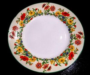 Beautiful Art Deco Grindley Ivory The Fairfield Lunch Plate
