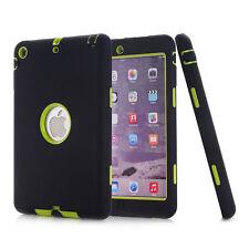 Nuevo a prueba de impactos Híbrido Resistente caucho duro funda para Apple iPad Models UK