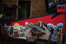 Hook Pinball machine full cabinet decals set