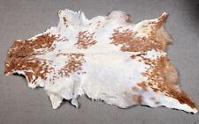 GOAT Western taxidermy Hide Rug Natural Pattern Fur Goat Hide Rode SA-4974