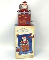 Hallmark Keepsake Christmas Ornament Pop! Goes the Santa Jack-in-the-Box 2004