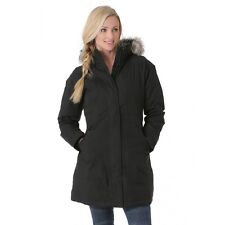 NEW The North Face Womens ARCTIC PARKA Jacket 2XL Black CC13 Down XXL