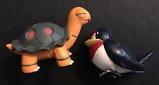 2 X TOMY Pokemon Figure Bundle Torkoal Taillow Hoenn 2004 Nintendo RARE