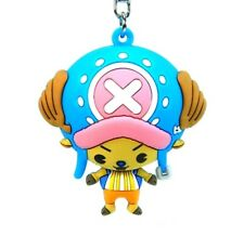 """ONE PIECE 3D Figural Keyring Series CHOPPER KEYCHAIN 3"""" Opened Blind Bag"""