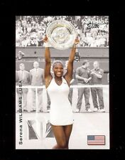 (10) SERENA WILLIAMS 2003 NetPro Tennis Event Edition S4 ROOKIE CARD rc LOT
