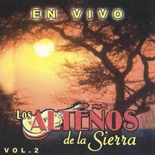 Los Altenos De La Sierra En Vivo Vol 2   CD New Sealed
