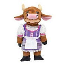 """SKANSEN BEANIE KID """"MOO MOO THE FARMER COW BEAR"""" MINT MINT TAG P.EXCLUSIVE 11/12"""