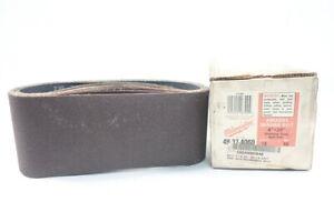 Box Of 10 Milwaukee 49-37-4060 Abrasive Sanding Belt 4in X 24in 60 Grit
