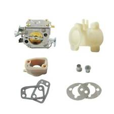 Carburetor Intake Manifold & Elbow fit HUSQVARNA 61 266 268 272 XP Chainsaw