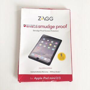 ZAGG Invisible Shield Tempered Glass Screen Protector iPad Mini 2 3 New