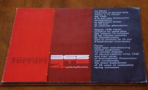 Ferrari 365 GTB/4 Daytona brochure prospekt, 1971