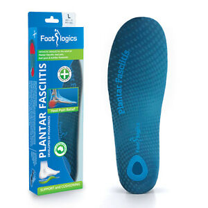 Footlogics Plantar Fasciitis - Orthotic insoles for heel pain and heel spurs