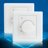 200-250V AC LED Dimmer Drehdimmer Schalter für Dimmbare LED Lampen Unterputz NEU