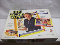 Vintage 1980s Board Game ~ Every Second Counts ~ Paul Daniels ~ Complete