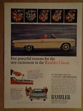 RAMBLER Ambassador CLASSIC 770 American 1965 ad WHITE Advertisement