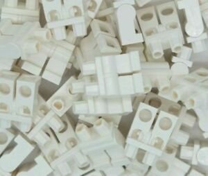 10 x Lego Minifigure Legs White mini lower NEW
