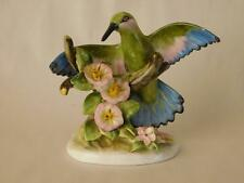 VINTAGE ROYAL ADDERLEY FLORAL ~ HUMMING BIRD ~ HAND PAINTED ~ NOW REDUCED 25%
