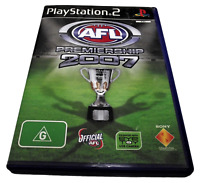 AFL Premiership 2007 PS2 PAL *No Manual*