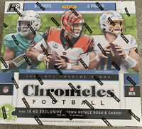 2020 Panini Chronicles Hobby Hybrid H2 Football Factory Sealed Box