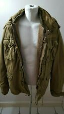 Mens Abercrombie & Fitch Factory Distressed U.S M65 Jacket With Field Liner XL.
