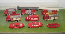 konvolut schöne Feuerwehrautos Spielzeugautos Modellautos Autos Sammlung Retten