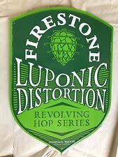 "Firestone Walker Brewery Beer Tin Metal Sign  Approx 17""x24"" Brand New"