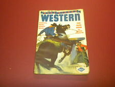 BLUE RIBBON WESTERN 1945 February - PULP magazine