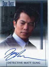 Dark Angel Premiere Autogrammkarte Byron Mann als Detective matt sung