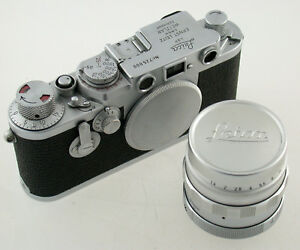 LEICA IIIf no. 725 000 + Summilux M39 LTM 1,4/50 50 50mm F1,4 1,4 M-39 TOP