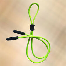 NEW Lime Rubber Keeper Dual End / Two Way Glasses Sunglasses Neck Sports Strap