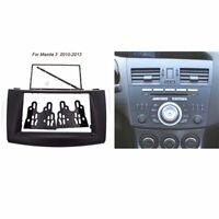 2 DIN Car Stereo Fascia Dash Panel Frame Trim Kit For MAZDA 3 AXELA 2010-2013