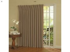 "Eclipse Thermal Blackout Patio Door Curtain Panel, 100"" x 84"" Wheat"