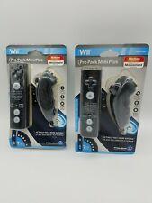 Power A Wii Black Pack MINI Plus Controller Set Motion Tech Change 7 Colors