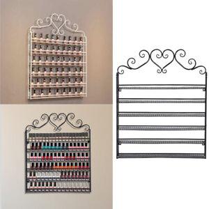 Salon Polish Nail Varnish Bottle Storage Wall Rack 6 Tiers Shelf Display Holder