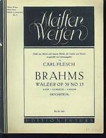 Brahms - Walzer OP. 39 No. 15 - für Violine und Klavier
