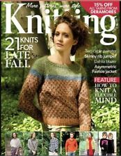 November Knitting Hobbies & Crafts Magazines