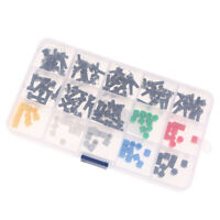 150pcs Momentary Tactile Push Button Micro Switch Miniature 7-Color 6x6x16
